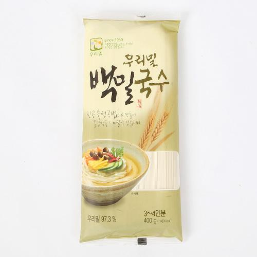 우리밀 백밀국수 400g